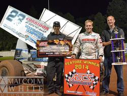 Bergman Sweeps ASCS Northwest Weekend at Cottage G