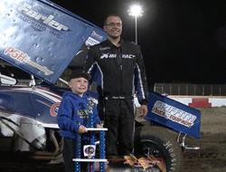 Logan Forler Holds On For ASCS Northwest Willamett