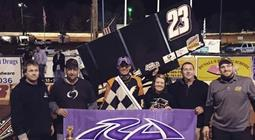 Starks Powers to Eighth Win of Season, First Career in South Carolina with USCS