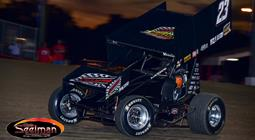 Starks Showcases Speed at World Finals, Nearly Scores First World of Outlaws Win