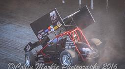 Starks Makes World of Outlaws Dash to