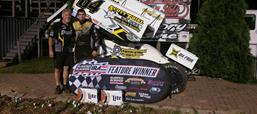 THIEL SWEEPS WEEKEND, CLAIMS VICTORY AT...