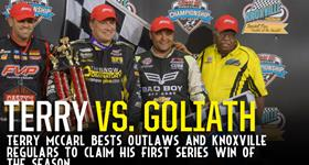 Terry McCarl Dominates for Knoxville Win