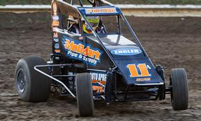 Andrew Felker Grabs Two Podiums in POWRi Acti