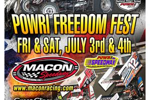 Macon Speedway Freedom Fest Doubleh