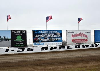 I-35 Speedway opens this Saturday