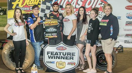 DAUM TAKES VICTORY AT LUCAS OIL