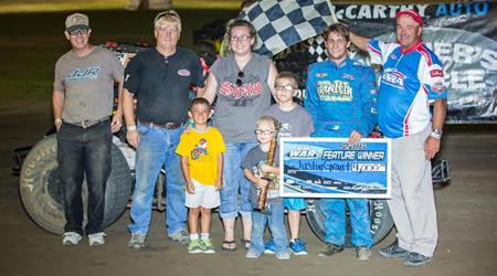 GRANT GRABS WAR WIN AT I-35