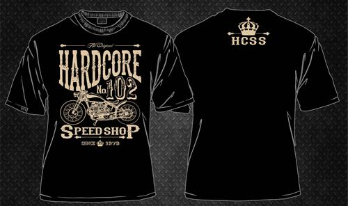 NEW TO THE HCSS LINE UP - THIS VINTAGE PRINT HARDCORE SPEED...