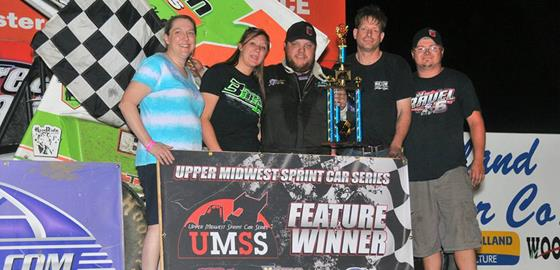 Derrik Lusk Captures First UMSS Win at D...