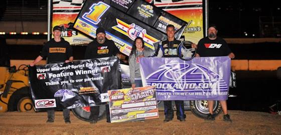 Justin Henderson Hustles To Open Wheel Nationals Win At SCVR