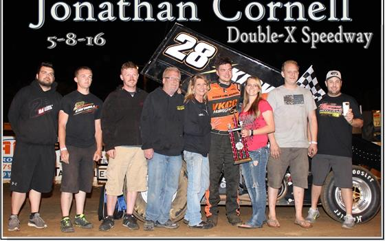 Cornell Takes Checkers At Double-X