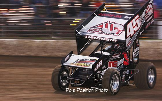 Johnny Herrera Leads Lucas Oil ASCS Nati...