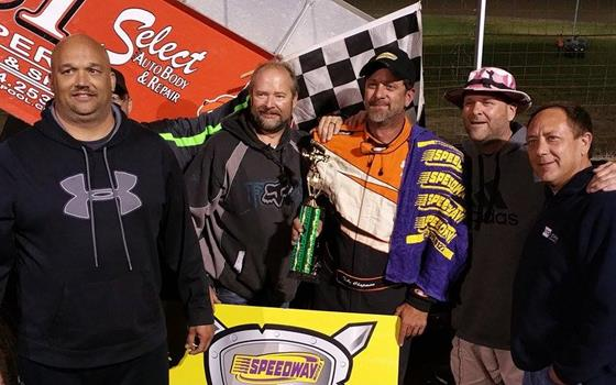 ASCS Warrior Victory Goes to Toby Chapman at U.S. 36 Raceway