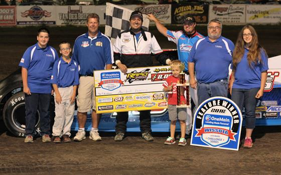 From Open Trailer to Victory Lane For Fegers