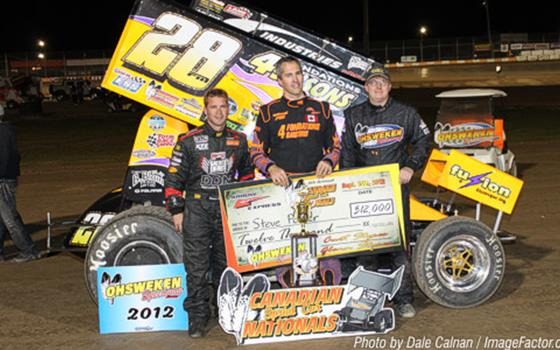 Steve Poirier Grabs Third Canadian Sprint Nationals Triumph