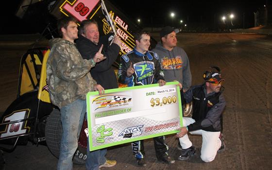 Brady Bacon Victorious in ASCS 305 Shoot...