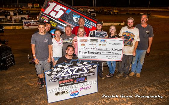 Sam Hafertepe, Jr. Grabs Lone Star Speed...