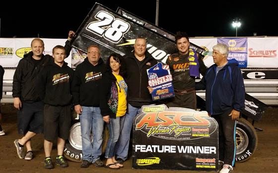 Cornell Leads The Distance With ASCS War...