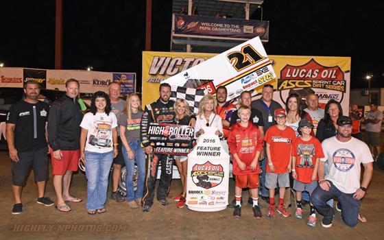 Brian Brown Pockets $15,000 To Win Lucas...