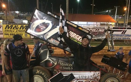 Shane Morgan Doubles Up With Lucas Oil A...