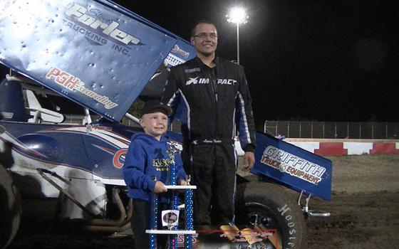 Logan Forler Holds On For ASCS Northwest...