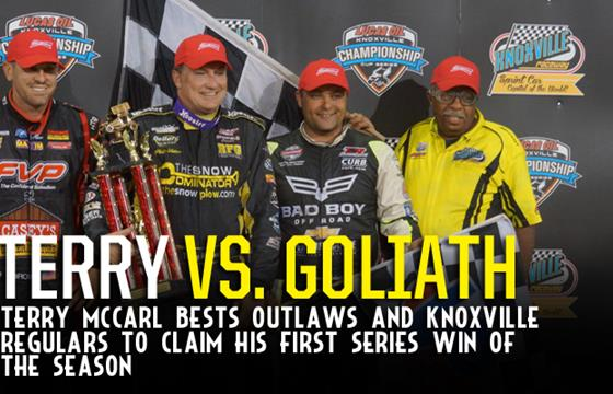 Terry McCarl Dominates for Knoxvill...