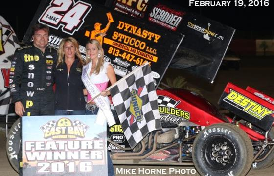Terry McCarl Wins Night Number Two...