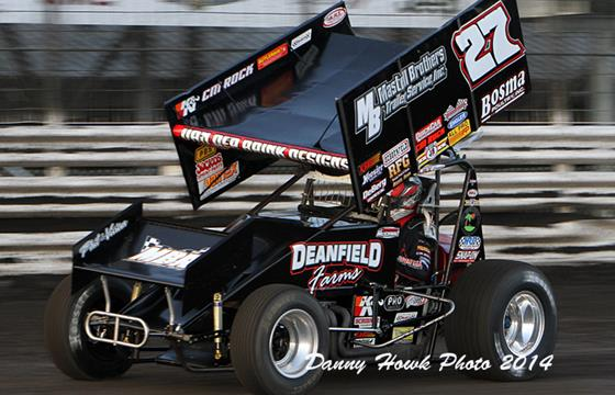 Carson McCarl – Podium at Knoxville...