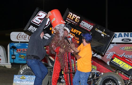 Terry McCarl Takes Home The $10,000...
