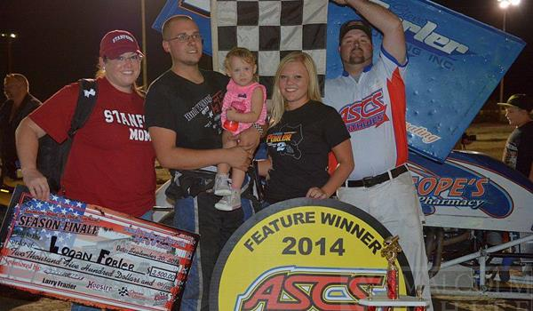 Forler Makes Last Lap Pass For ASCS-Nort...