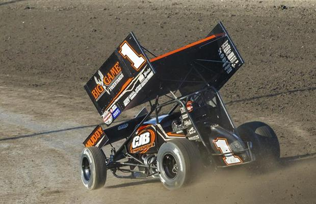 Swindell Executes Last-Lap Pass and Time...