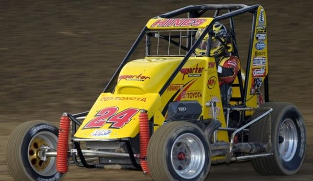 "Spotlight on Hines Thursday as He Seeks USAC ""Triple Crown"" at 75th ""Turkey Night Grand Prix"""