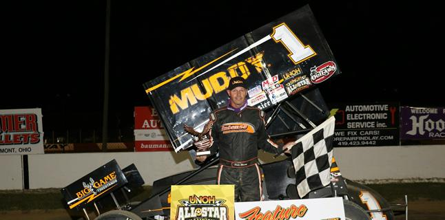 Dale Blaney Wins at Millstream and Clinches 2015 UNOH All Star Title