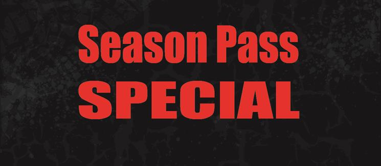 Season Pass Special Offer expires 11/27/15