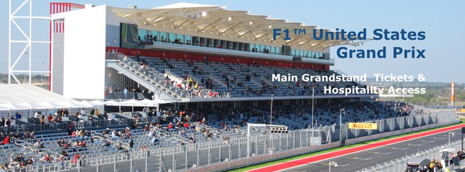 F1™ United States GP Main Grandstand Options