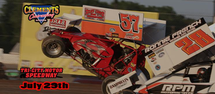 Winged Sprints Return Friday, July 29th