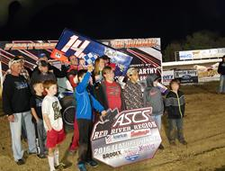 Kyle Bellm Wins A Thriller With ASCS Red River At