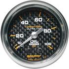 Autometer Carbon Fiber Full Sweep Mech Gauges