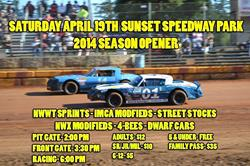 2014 Season Schedule To Get Underway This Saturday April 19th