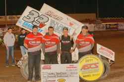 Van Dam Muscles Up ASCS Northwest Win at Cottage Grove!