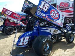 Schatz Surges To 19th World of Outlaws STP Sprint Car Win