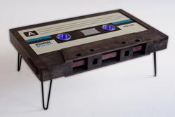 Classic Cassette Tape Coffee Table