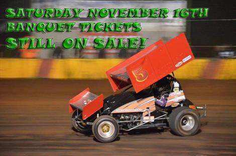 SATURDAY NOVEMBER 16TH BANQUET TICKETS STILL ON SALE