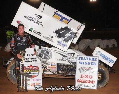 Johnson Holds on to Victory at I-30 Speedway