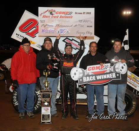 McMahan Claims Second Short Track Nationals Title