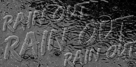 Rain at the Short Track Nationals