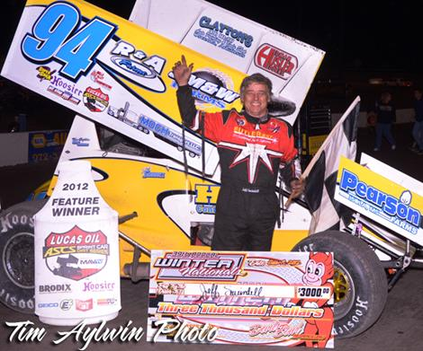 Swindell Scores Winter Nationals Prelim Victory