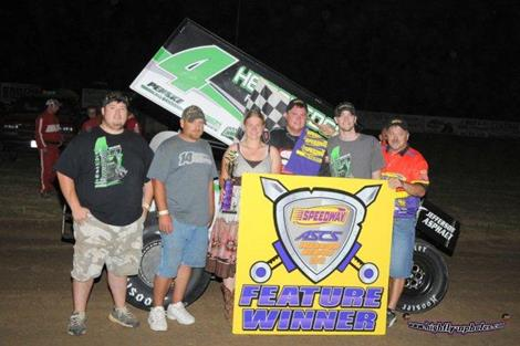 Evan Martin Earns First Career ASCS win with Warrior Triumph at LA!