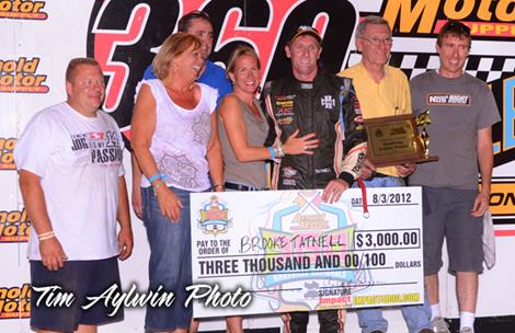 Tatnell Tops Night Two at 360 Knoxville Nationals